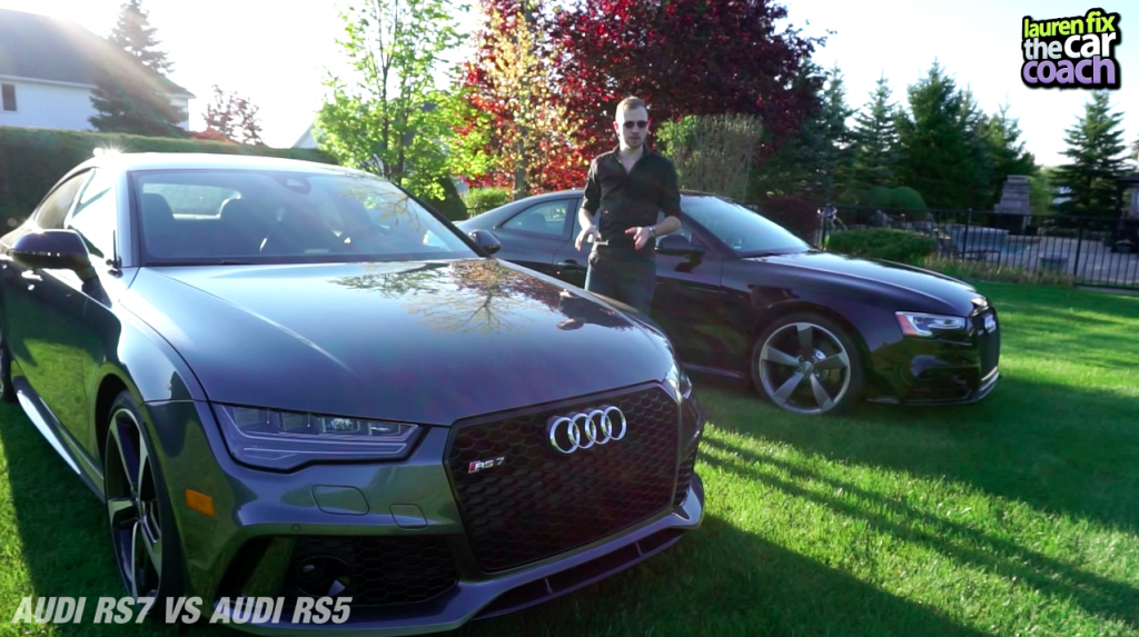2016 Audi RS7 vs Audi RS5 Car Review by Paul Fix III