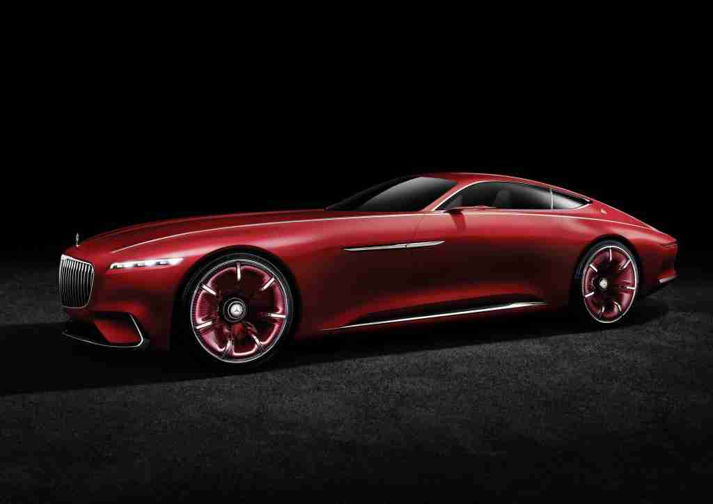 September Hot Car - Vision Mercedes-Maybach 6 Concept