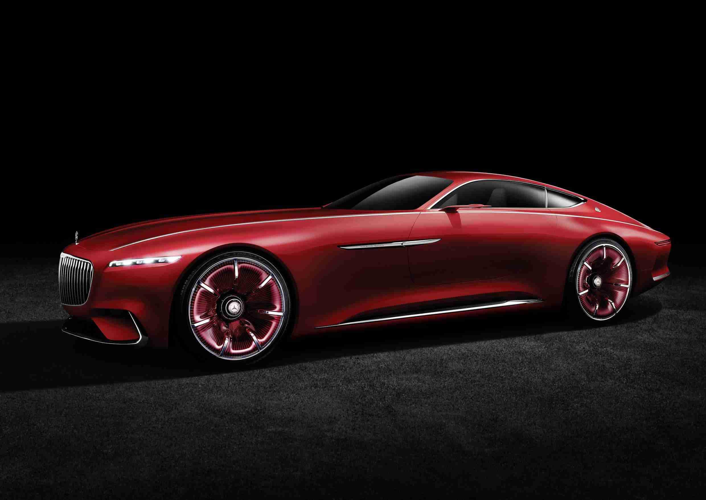 September Hot Car - Vision Mercedes-Maybach 6 Concept