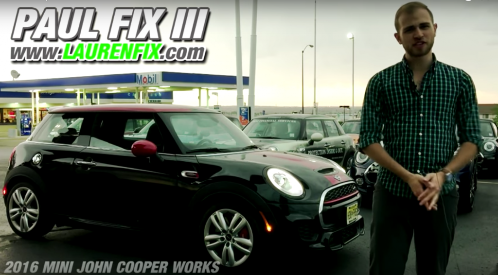2016 Mini John Cooper Works Car Review by Paul Fix III