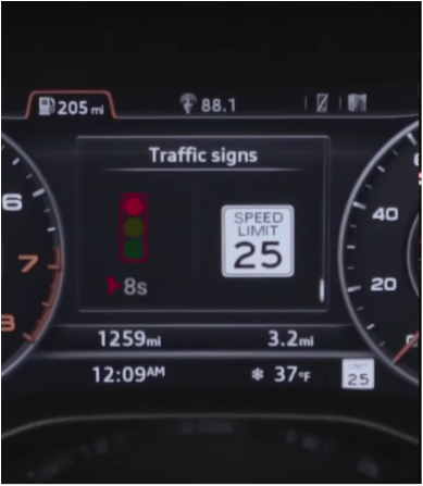 Audi's Traffic Light Countdown