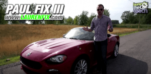 2017 Fiat 124 Spider Expert Car Review by Paul Fix III, Car Coach Reports