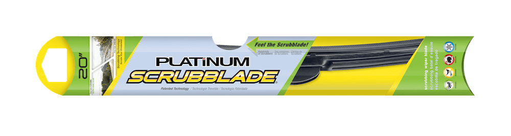 scrubblade wiper blade spring car care