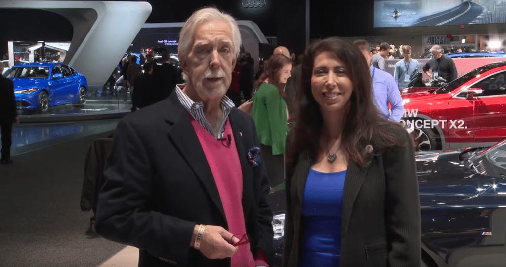 Lauren Fix & Paul Brian - 2017 North American International Auto Show in Detroit