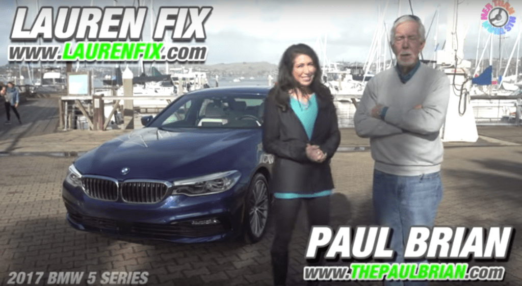 2017 BMW 5 Series: His Turn - Her Turn™ Expert Car Review