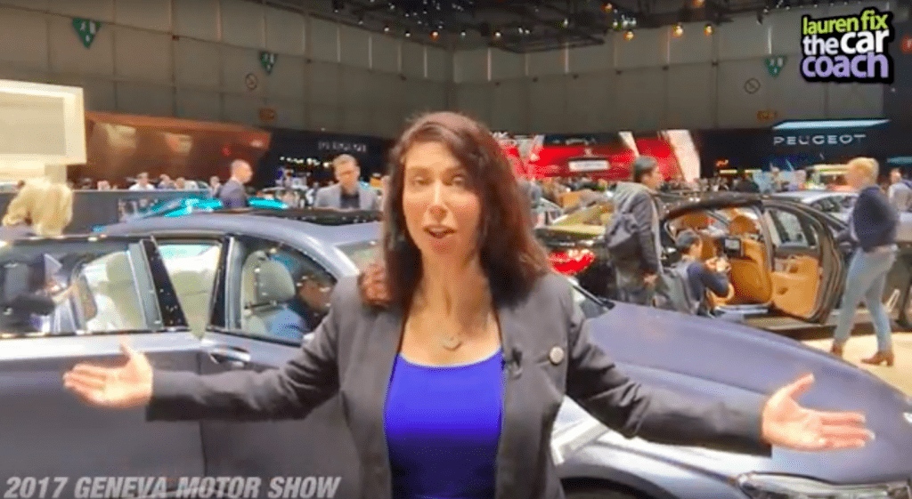 2017 Geneva Motor Show - Lauren Fix, The Car Coach®