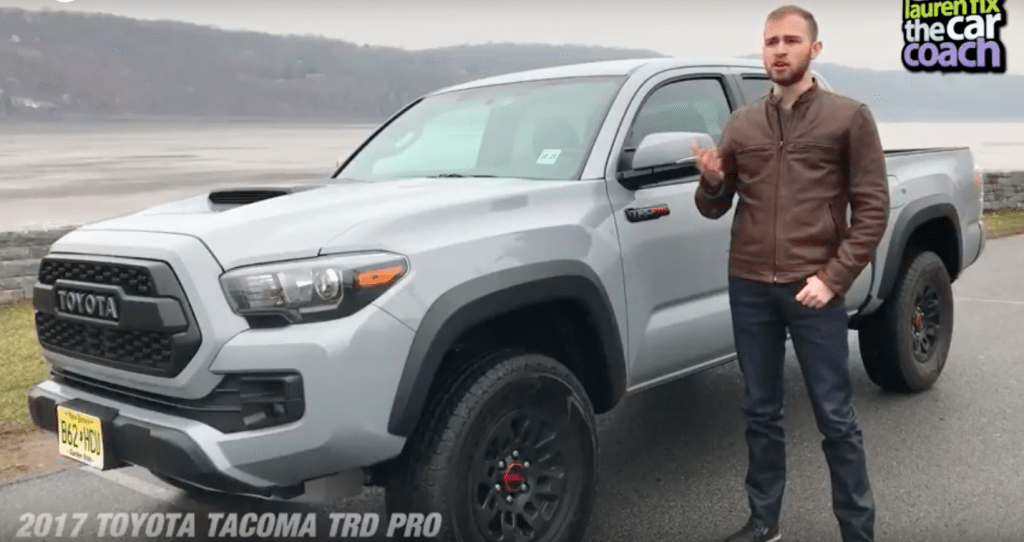 2017 Toyota Tacoma TRD Pro Car Review by Paul Fix III