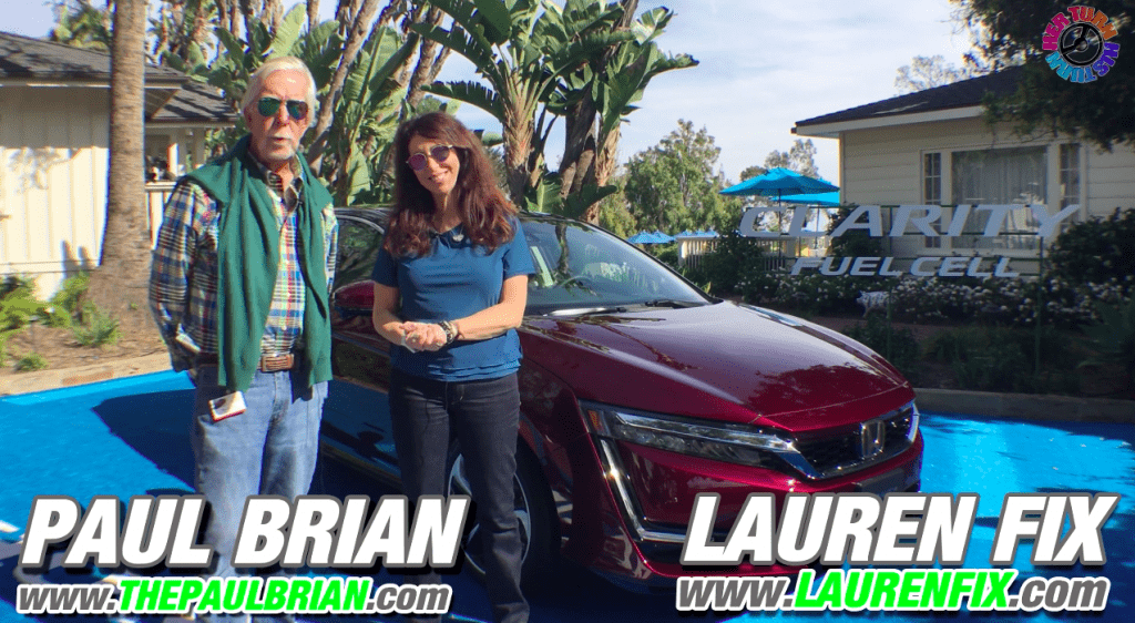 2017 Honda Clarity Fuel Cell: His Turn - Her Turn™ Car Review