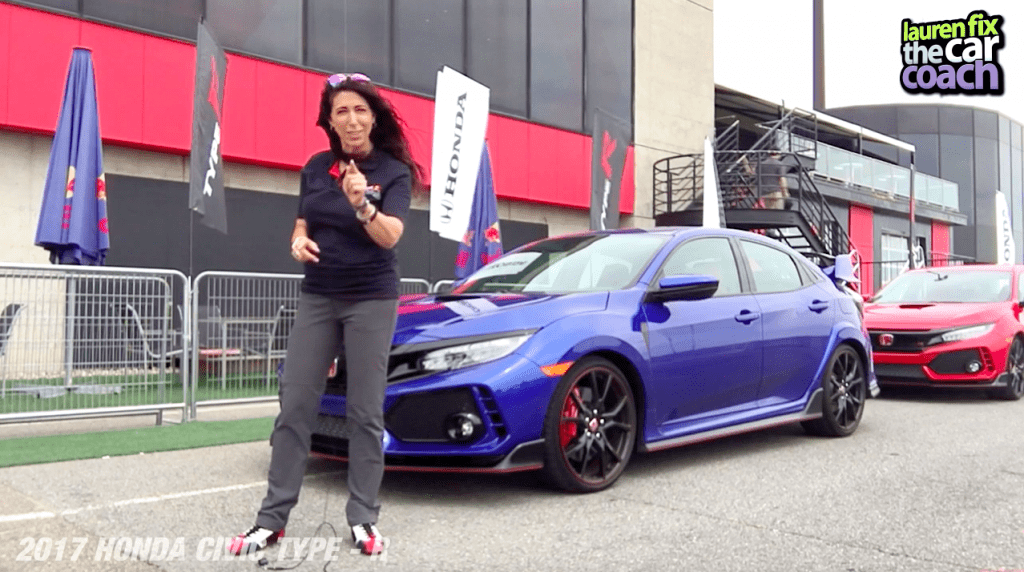 2017 Honda Civic Type R Car Review by Lauren Fix, The Car Coach®