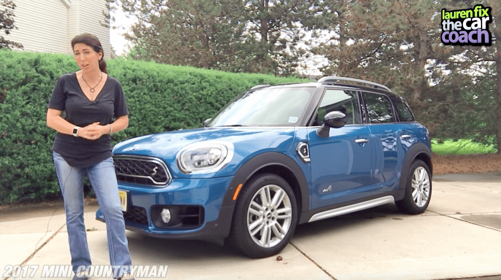 2017 Mini Countryman Car Review by Lauren Fix, The Car Coach®