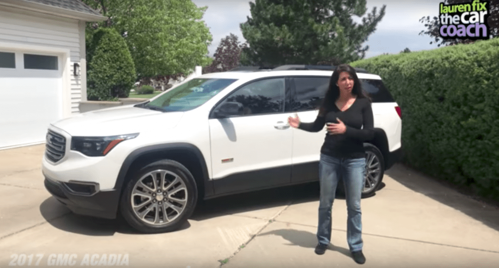 2017 GMC Acadia Car Review by Lauren Fix, The Car Coach®