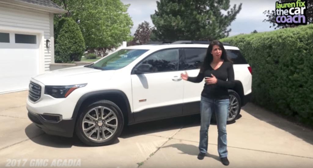 2017 GMC Acadia Car Review by Lauren Fix, The Car Coach®