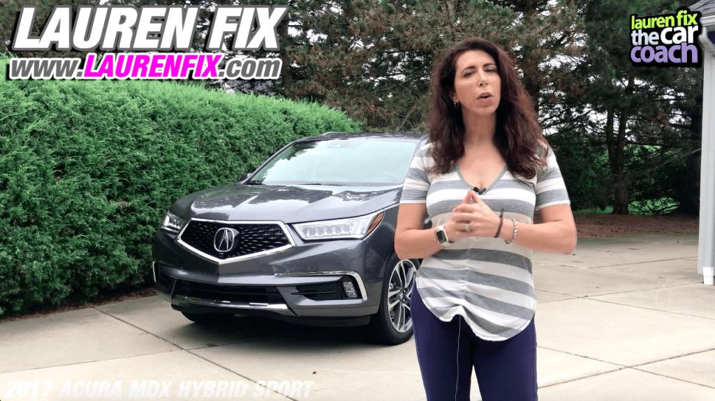 2017 Acura MDX Hybrid Sport Car Review by Lauren Fix, The Car Coach®