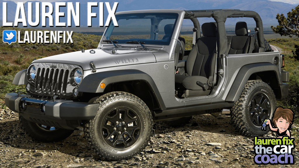 2017 Jeep Wrangler 4x4 Willy's Edition Car Review by Lauren Fix, The Car Coach®