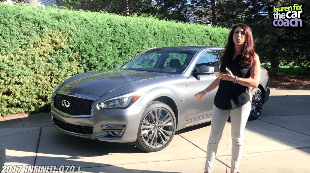 2017 Infiniti Q70L Car Review by Lauren Fix, The Car Coach®