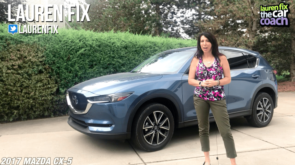 2017 Mazda CX-5 Car Review by Lauren Fix, The Car Coach®