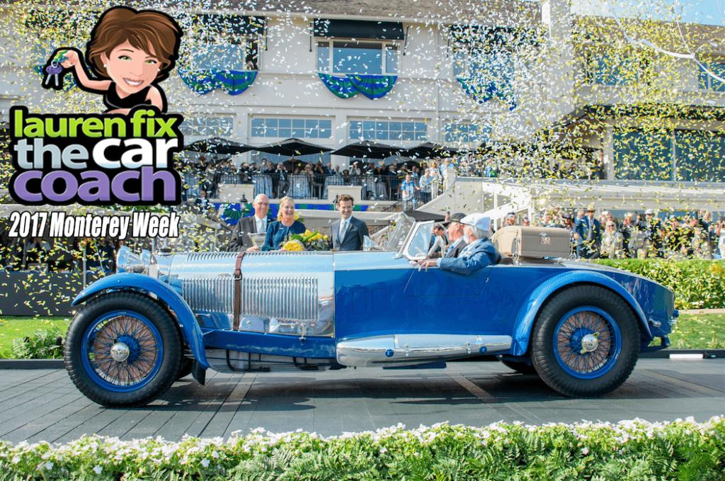 2017 Monterey Week with Lauren Fix, The Car Coach®