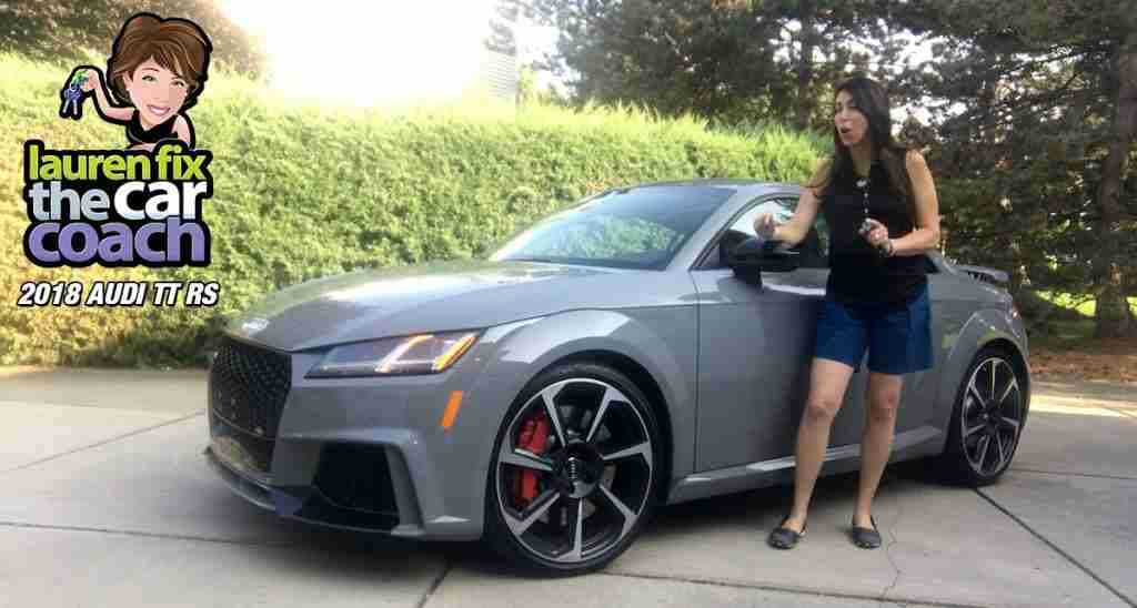 2018 Audi TT RS Car Review by Lauren Fix, The Car Coach®
