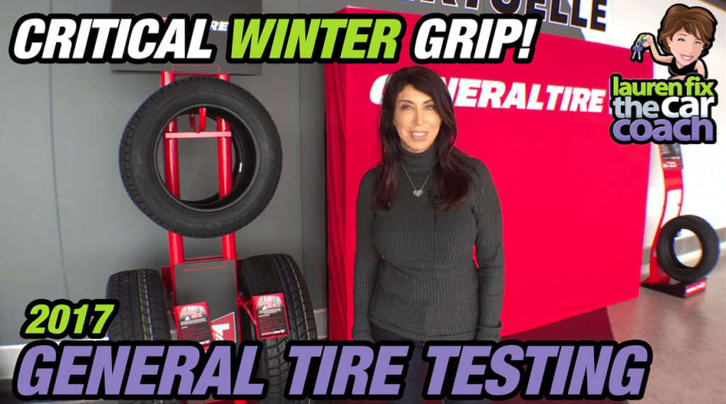 2017 General Tire - Winter Tire Testing by Lauren Fix