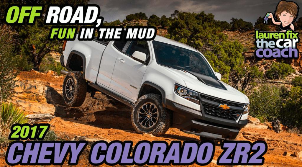 2017 Chevy Colorado ZR2 - Off Road, Fun in the Mud