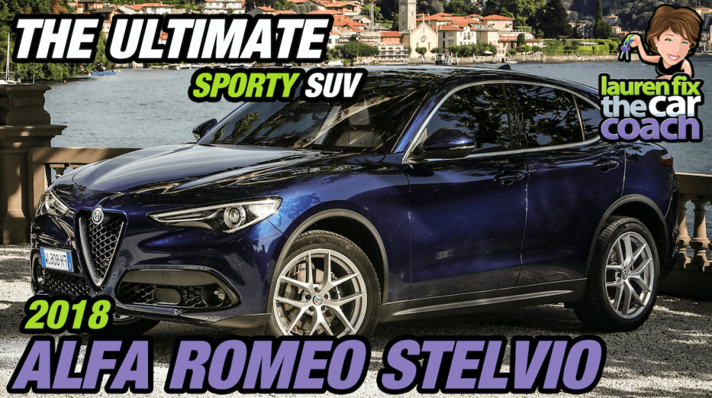 The Ultimate Sporty SUV - 2018 Alfa Romeo Stelvio - Paul Fix III