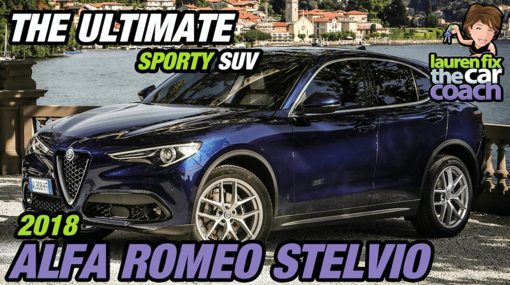 The Ultimate Sporty SUV - 2018 Alfa Romeo Stelvio - Paul Fix III