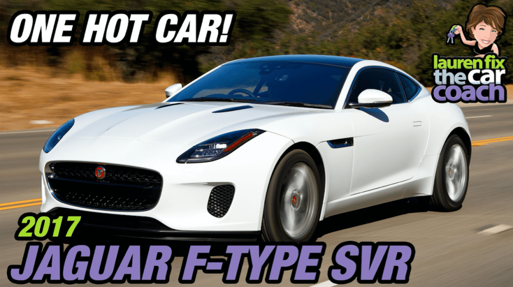 One Hot Car! 2017 Jaguar F-Type SVR