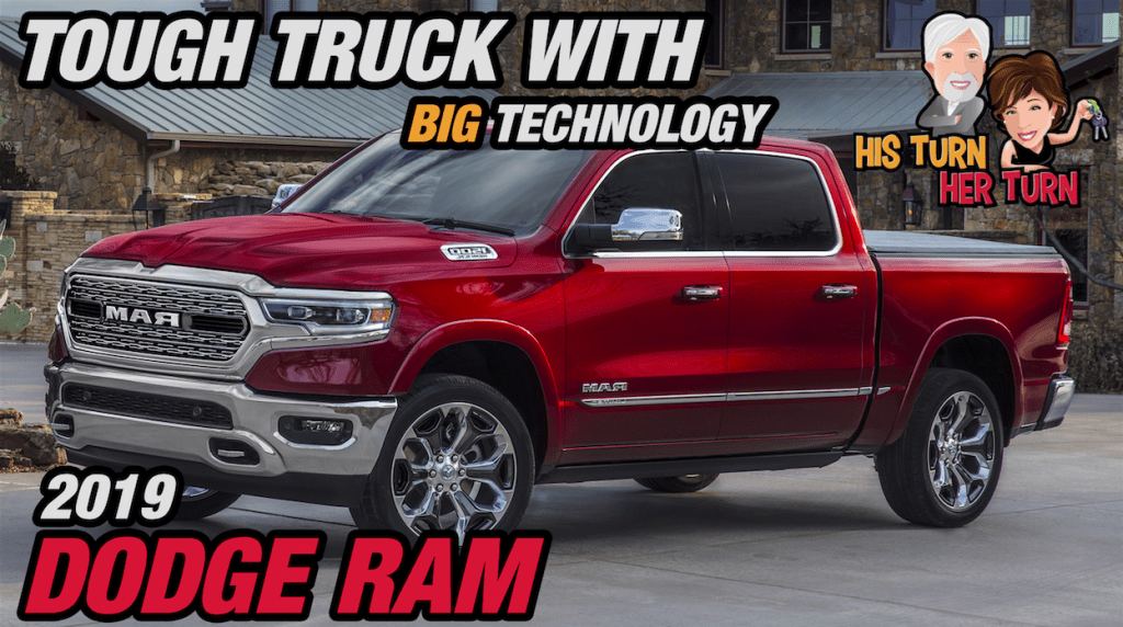 2019 Ram 1500 - Tough Truck with Big Technology