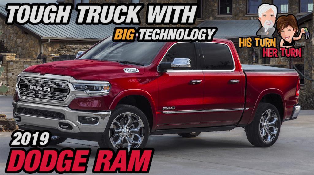 2019 Ram 1500 - Tough Truck with Big Technology