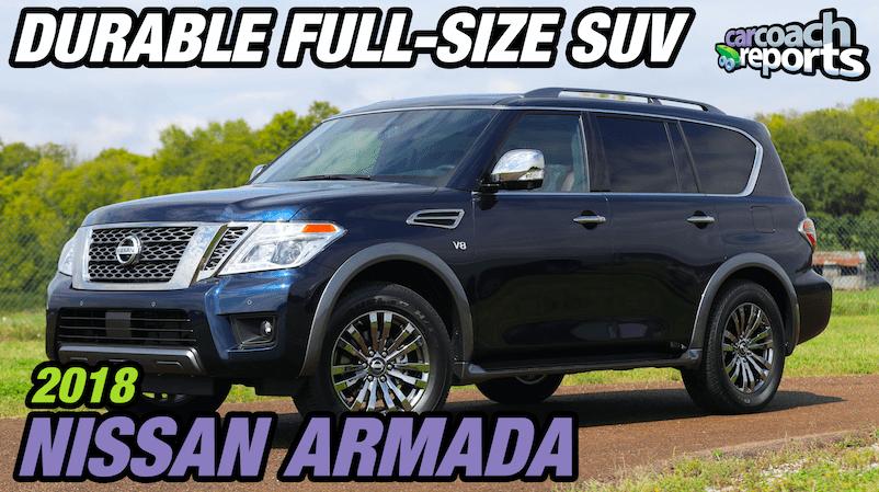 2018 Nissan Armada - Durable Full-Size SUV