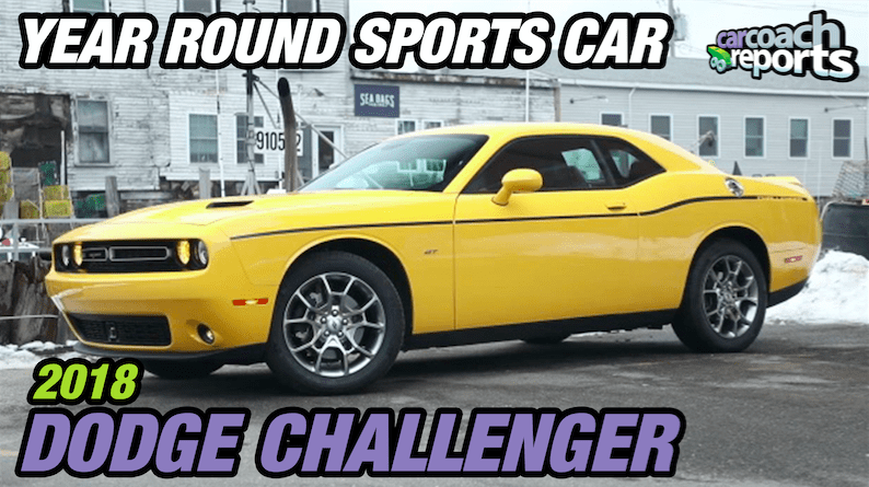 5 Things to Know About the 2018 Dodge Challenger GT AWD