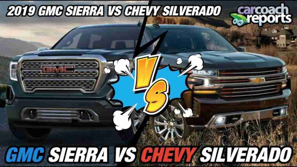 2019 GMC Sierra vs Chevy Silverado review