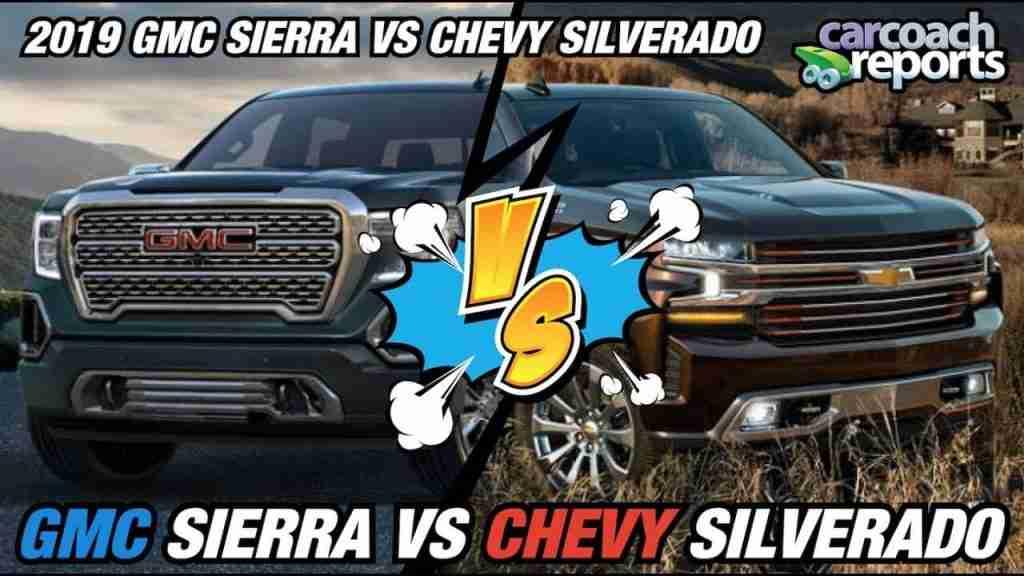 2019 GMC Sierra vs Chevy Silverado review