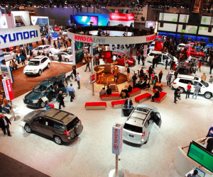 NY Auto Show Pushes Electricity, Horsepower to Limit