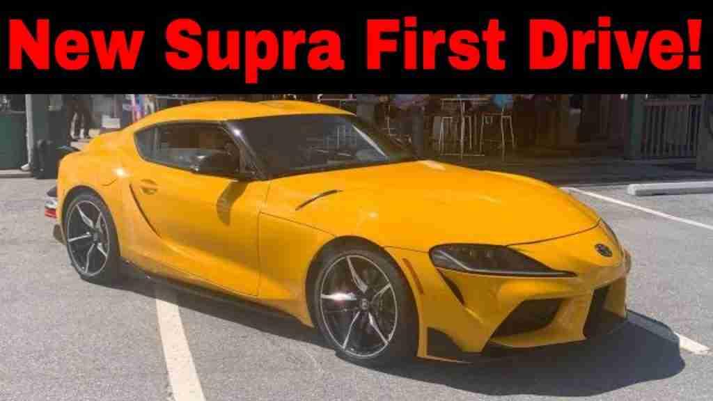 2020 Supra car review