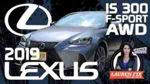 2019 Lexus IS 300 AWD F Sport