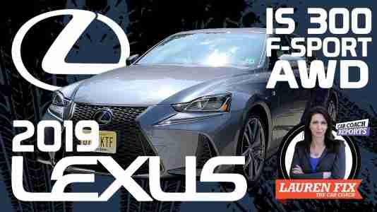 2019 Lexus IS 300 AWD F Sport