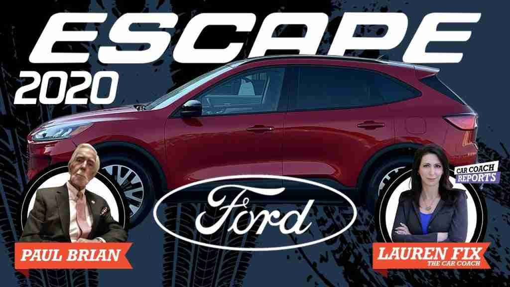 2020 Ford escape car review