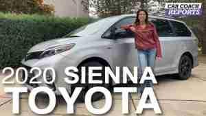 2020 Toyota Sienna review minivan