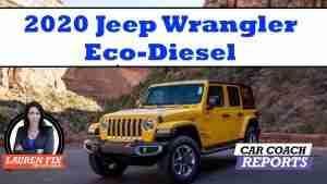 2020 Jeep Wrangler Eco-diesel review