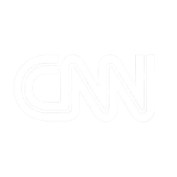 CNN logo white