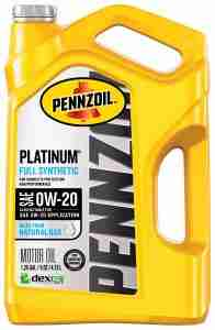 Pennzoil Platinum full synthetic recommended by Lauren Fix, The Car Coach