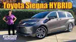 2021-Toyota Sienna-XSE-Hybrid-Review