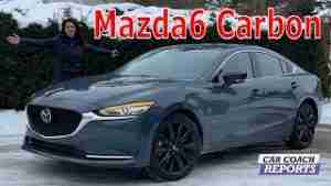 2021 Mazda6 Carbon Edition Review